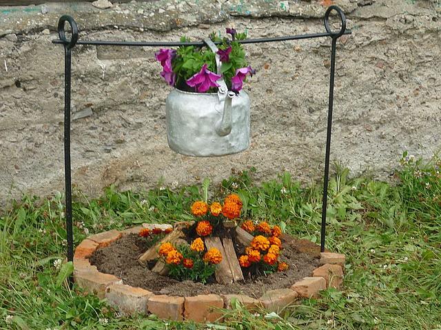 Фото поделки для огорода своими руками из подручных материалов