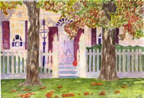 Осенний дом