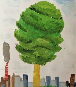 Деревья тоже хотят дышать