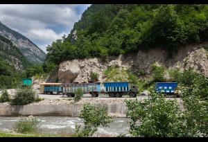 Один из пейзажей нашей Ингушетии