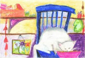кошка Изюмка