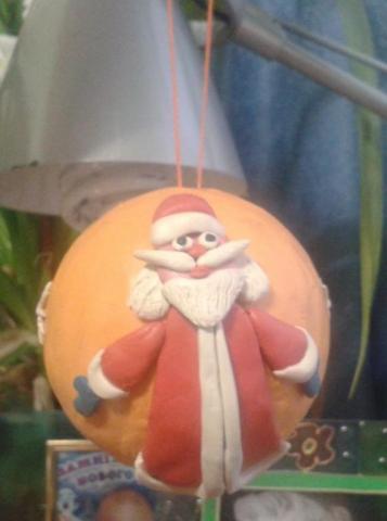 Дед Мороз на нашей ёлке!