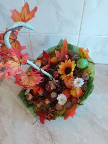 Осенний зонтик  - Стрижак Виталина - конкурс «Осенняя пора - очей очарованье...»