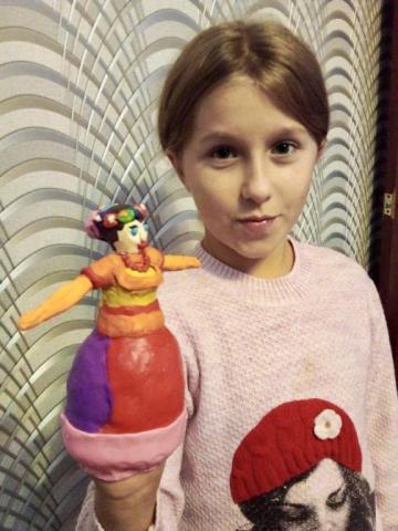 «Кукла в русско народном костюме»
