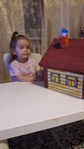 «Дом в котором Мы живем»  - Шалаева Елизавета  - конкурс «Мама, папа, Я - наша дружная семья!»