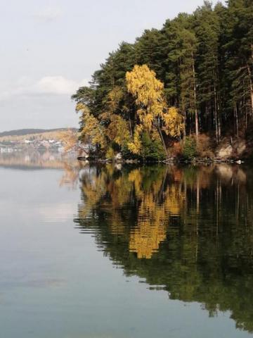 Осенняя пора, озеро Таватуй!