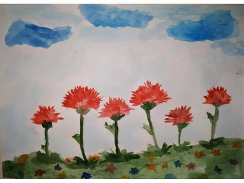 Гвоздики - цветы ПОБЕДЫ!