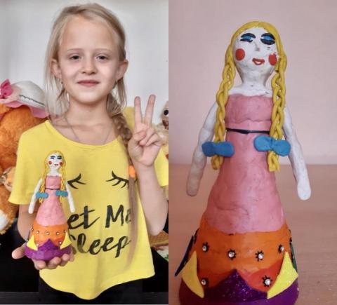 «Кукла в русско-народном костюме»