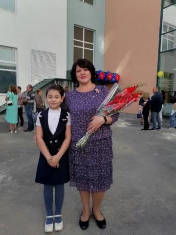 Цветы любимой учительнице