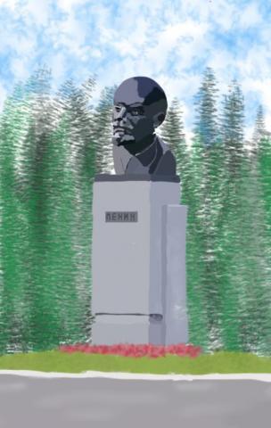 Ленин в Нефтекамске