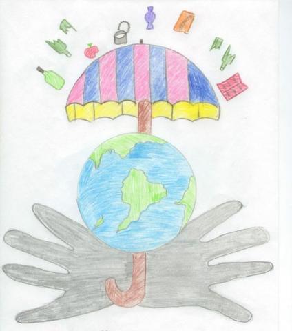 Спасём планету от мусора