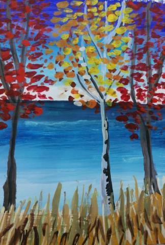 Осенний лес!
