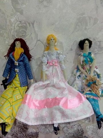 Куклы Тильди