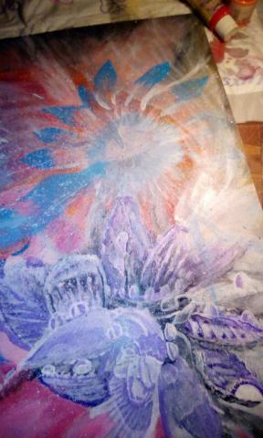 Сюрреализм - Цветок - корабль - коралл
