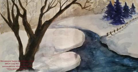 Зима зимушка в лесу