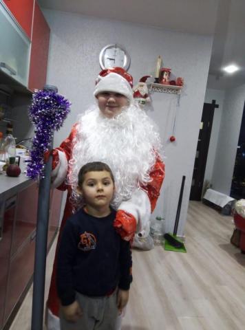 Встеча 2019года, я в роли Деда Мороза