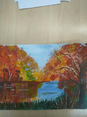 Осень зеркало души