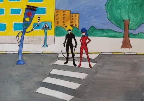 Будь внимательным на дороге  - Бирагов Мирон  - конкурс «Правила дорожного движения глазами детей»
