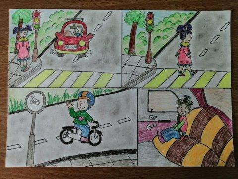 Правила дорожного движения - Морозова Ульяна - конкурс «Правила дорожного движения глазами детей»