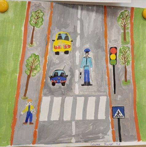 Я пешеход  - Скорик Тимур  - конкурс «Правила дорожного движения глазами детей»