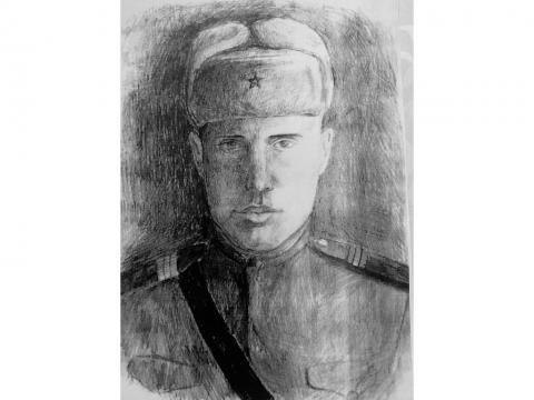 Николай Семёнович Котов -  прадедушка Ксении Игнатченко, один из героев, участников Великой Отечественной войны, дошедший до Германии