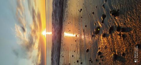 закат над Беринговым проливом