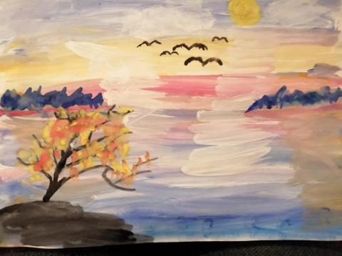 Нагайбакские краски осени
