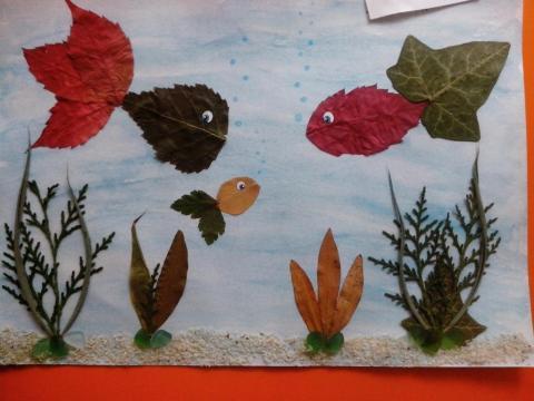 Осенние рыбки