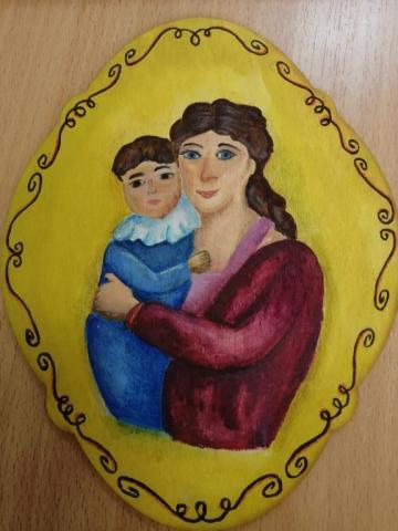 """""""Мама с сыном"""""""