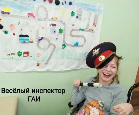 Веселый инспектор ГАИ