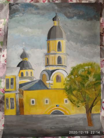 Церковь на чкалова