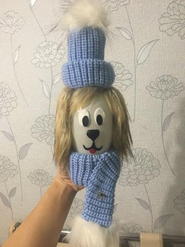 "Ёлочная игрушка - символ года ""Роза Барбоскина"""