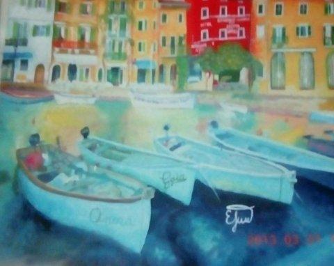 Скучающие лодки - Тимохина Евгения Васильевна - конкурс «ВОЛШЕБНОЕ МГНОВЕНИЕ МОЕГО ЛЕТА»