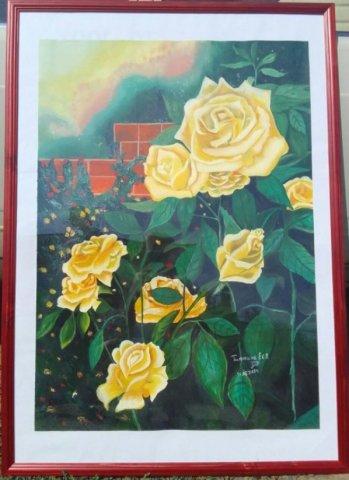Розы - Тимохина Евгения Васильевна - конкурс «Природа родного края!»