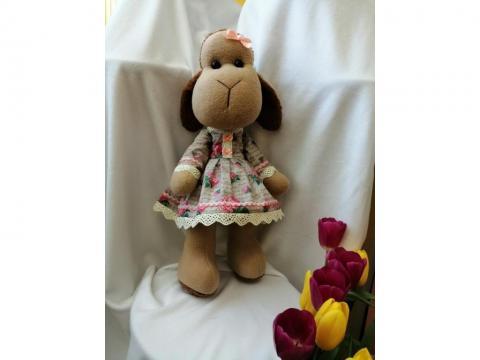 Авторская, сюжетная кукла- работа с текстильными материалами – текстильная игрушка