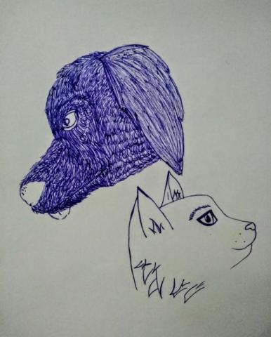 Пёс Точа и кот Сёма