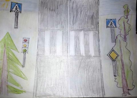 Пешеход, пешеход, помни ты про переход!