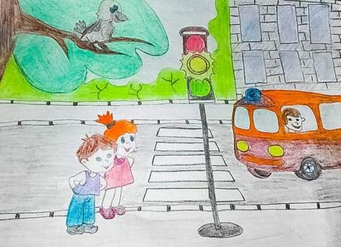 «Правила дорожного движения глазами детей»