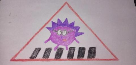 Дорожный знак глазами детей
