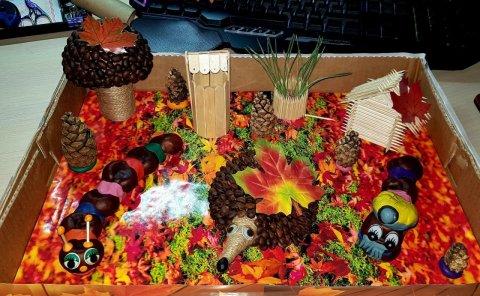 Золотая осень - Тарасенко Анастасия  - конкурс «Осенняя пора - очей очарованье...»