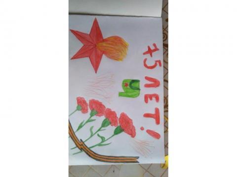 открытка Победы, своими руками