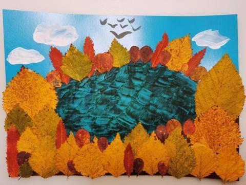 Северная осень золотая.