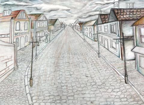 """""""Улица старого города"""""""