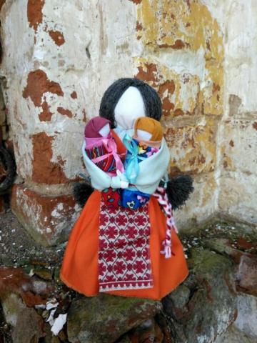 "Текстильная кукла ""Мамушка"""