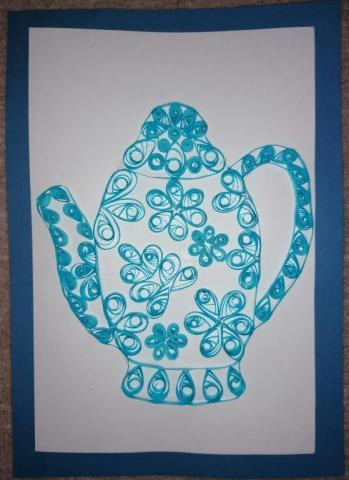 Заварочный чайник «Волшебные кружева»