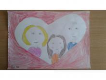 Портрет моей любимой семьи