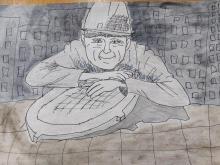 """Памятник слесарю """"Степаныч"""""""