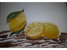 Искусство натюрморта. Лимоны.