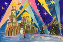 Зимние каникулы. Кубинка, Подмосковье - Храм Во имя Добра и Победы