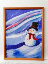 Забавы снеговика